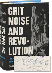 image of Grit, Noise, and Revolution: The Birth of Detroit Rock 'n' Roll (Hardcover, signed by Question Mark, Gary Grimshaw, Leni Sinclair, author David Carson, and others)