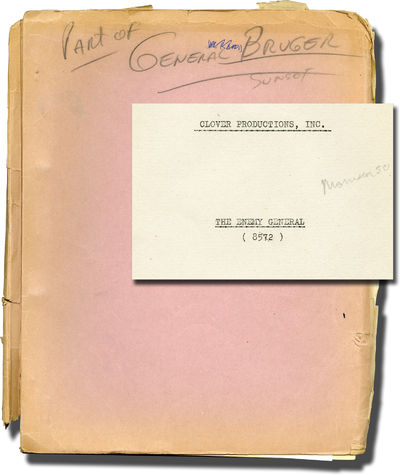 Culver City, CA: Columbia Pictures, 1959. Revised Final Draft script for the 1960 film. Copy belongi...