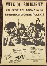 Week of solidarity with People\'s Front for the Liberation of Oman (PFLO) [poster]