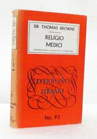image of The Religio Medici and Other Writings (Everman's Library No 92)