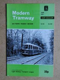 The Modern Tramway and Rapid Transit Review. June 1975. Vol. 38. No. 450.