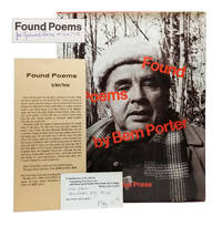 Found Poems by  Bern Porter - Signed First Edition - 1972 - from Dividing Line Books (SKU: 001452)