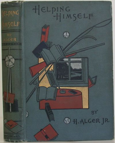 Henry T. Coates, 1895. 2nd Edition. Hardcover. Very Good/Very Good. Early printing of this Alger nov...