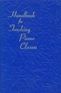 image of Handbook for Teaching Piano Classes
