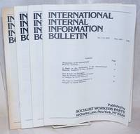 image of International internal information bulletin, no. 1 in 1977, July, to no. 5, August