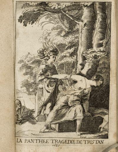 François l'Hermite (c. 1601 – September 7, 1655). Pantheé, Tragedie de Monsieur de Tristan. Pari...