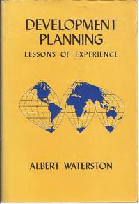 Development Planning, Lessons of Experience (Gov't. Planning)
