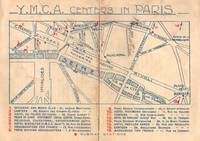 "Small circular, ""YMCA Centers in Paris"" WWI Era"