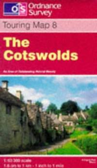 image of The Cotswolds (Touring Maps & Guides)