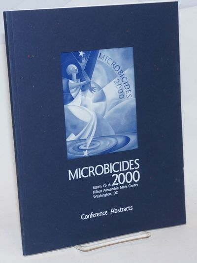 Washington DC: The Conference, 2000. Paperback. ix, 86p., 4p. late-breaking abstracts stapled addend...