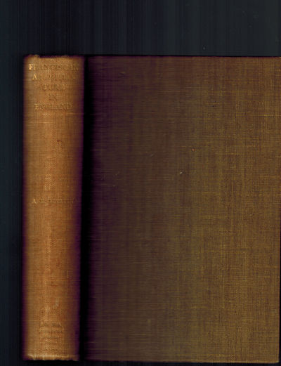 Manchester, UK: Manchester: The University Press, 1937. Very Good, spine a bit sunned, light foxing ...