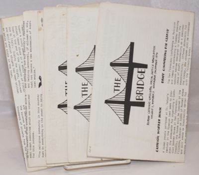 San Francisco: the newsletter, 1970. Five issues of the 8.5x11 inch newsletter, six to eight pages p...