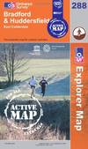 image of Bradford and Huddersfield (OS Explorer Map Active)