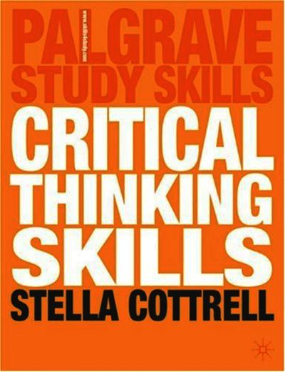 stella cottrell 2005 critical thinking skills palgrave macmillan ltd