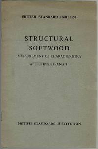 image of Structural Softwood: Measurement of Characteristics Affecting Strength