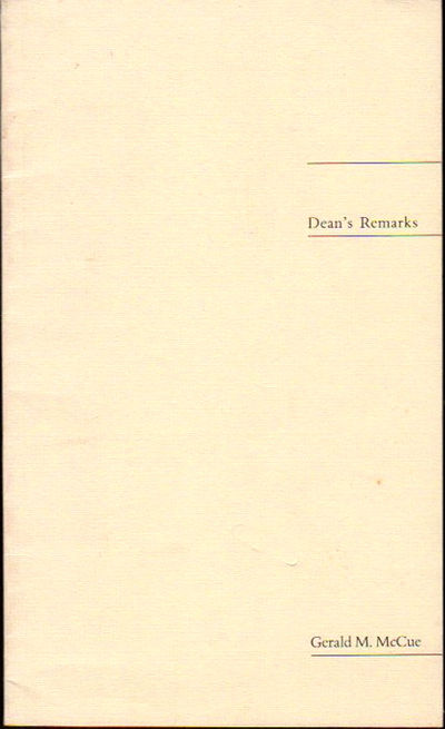 Cambridge: Harvard University School of Design, 1980. Paperback. Very Good. (16) page pamphlet . sho...