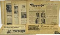 [NEWPAPER] [RPI] [VCU] PROSCRIPT. EIGHT ISSUES. 1954-1955
