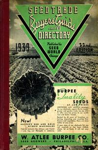 Seed Trade Buyer's Guide and Directory [1939 Seed Catalogue]