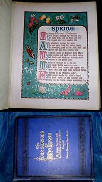 THE FOUR SEASONS AT THE LAKES by Charles Dent Bell, M.A. Rector of Cheltenham and Hony. Canon of Carlisle. Author of Voices from the Lakes and other Poems. Illuminated by Blanche de Montmorency Conyers Morrell