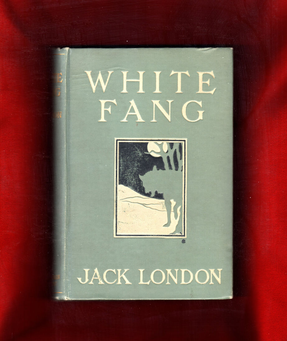 White Fang Book Cover : White fang becky london signed also association copy by