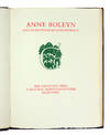 View Image 3 of 5 for Anne Boleyn and other poems by Loyd Haberly. Inventory #122591