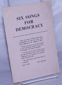 image of Six songs for democracy