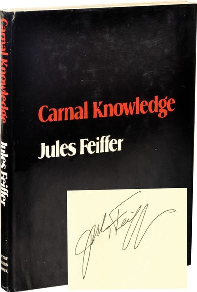 New York: Farrar Straus and Giroux , 1971. First Edition. First Edition. SIGNED by the author on the...