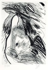 Les jeux à deux. Mit 16 Radierungen von WALTER STÖHRER. by  Unica Zürn - Hardcover - Signed - from Ars Libri Ltd (SKU: B202078-1)