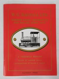 W. G. Bagnall Ltd. Narrow Gauge Locomotives and Rolling Stock catalogue