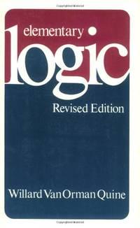 Elementary Logic: Revised Edition