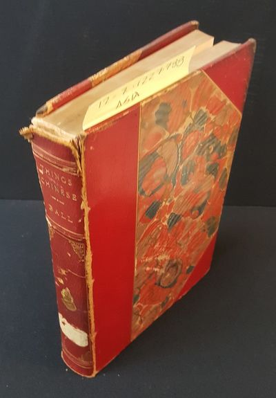 London: Sampson Low, Marston & Company, 1892. First Edition. Octavo; G/No jacket hardcover; Red leat...