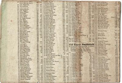 , 1843. Large broadsheet approx. 29