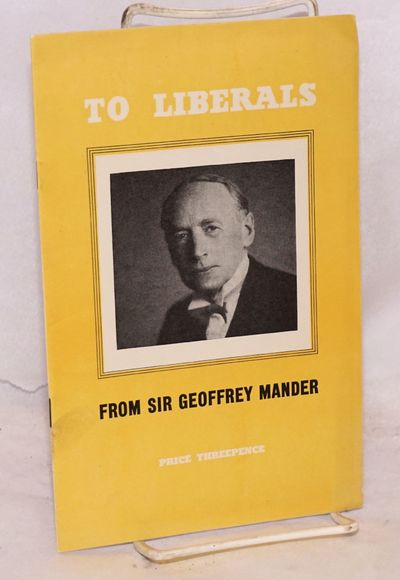 London: Labour Party, 1948. Pamphlet. 15p., softbound in stapled 8.5x5.5 inch wraps portrait-decorat...