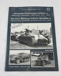 Tankograd - Wehrmacht Special No. 4002 - Deutsche Fahrzeugraritaten (2) Kaiserreich / Reichswehr...