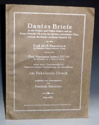 image of Dantes Briefe an die Fürsten und Völker Italiens und an Kaiser Heinrich VII