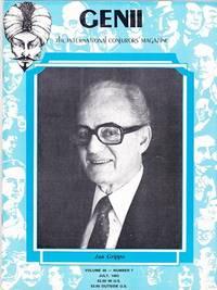 image of Genii: The International Conjurors Magazine: July 1982
