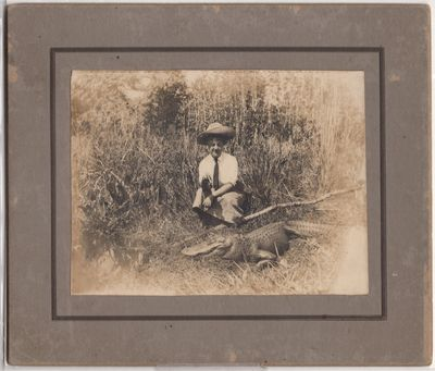 Ocala , 1910. Card. Good. Name and address of woman in pencil. Fade and touch of wear to board.