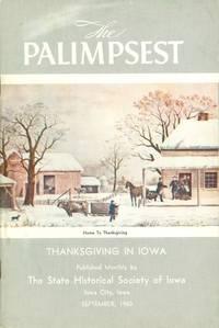 image of The Palimpsest - Volume 41 Number 9 - September 1960