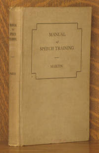 MANUAL OF SPEECH TRAINING