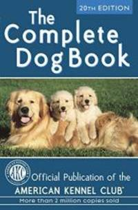 image of The Complete Dog Book: 20th Edition