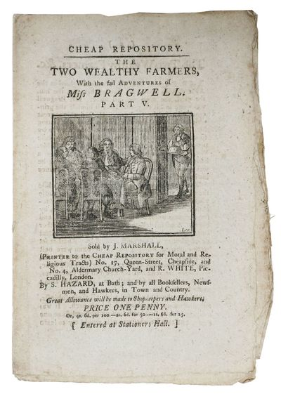 London: Sold by J. Marshall , R. White, Piccadilly ... & by S. Hazard, at Bath.., 1796. 1st printing...