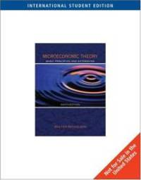 image of Microeconomic Theory: Basic Principles and Extensions