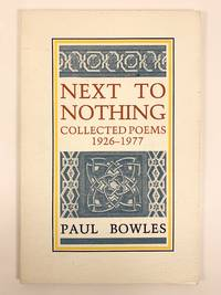 Next to Nothing Collected Poems 1926 1977