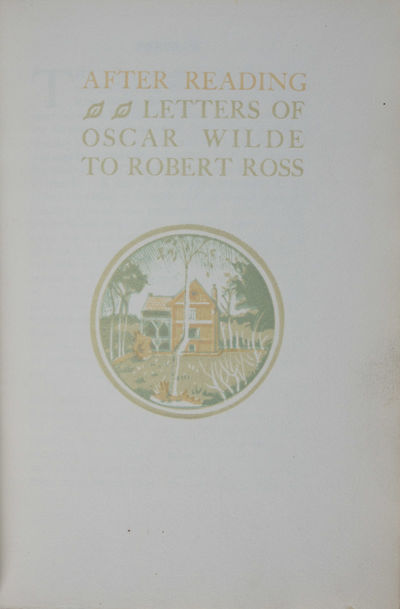 Westminster: Beaumont Press, 1921. First edition. Hardcover. g+ to fine. 440/475, Large Octavo. 59 (...