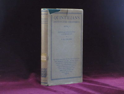 London: Cambridge University Press, 1924. First Edition. Hard Cover with Dust Jacket. Near Fine/Very...