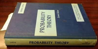 Princeton, NJ: D. Van Nostrand Company, Inc, 1960. Second Edition. Hardcover. Octavo; pp 685; G/Fair...