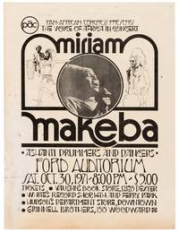 Original 1971 Window Card