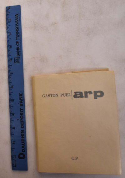 Paris: Presse artisanale de Gaston Puel, 1965. No. 10 of 12 HC (Hors Commerce) copies signed by the ...