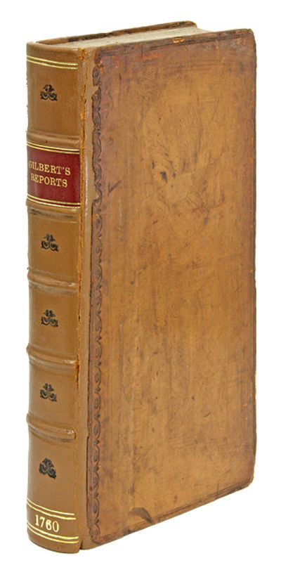 1760. Gilbert on Equity, The Action of Debt and the Constitution of England Gilbert, Sir Geoffrey . ...