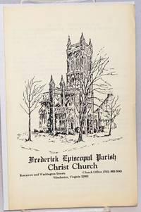 image of Frederick Episcopal Parish Christ Church [program]